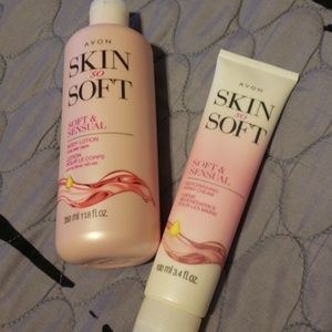 Avon Skin So Soft Lotion & Hand Cream Brand New